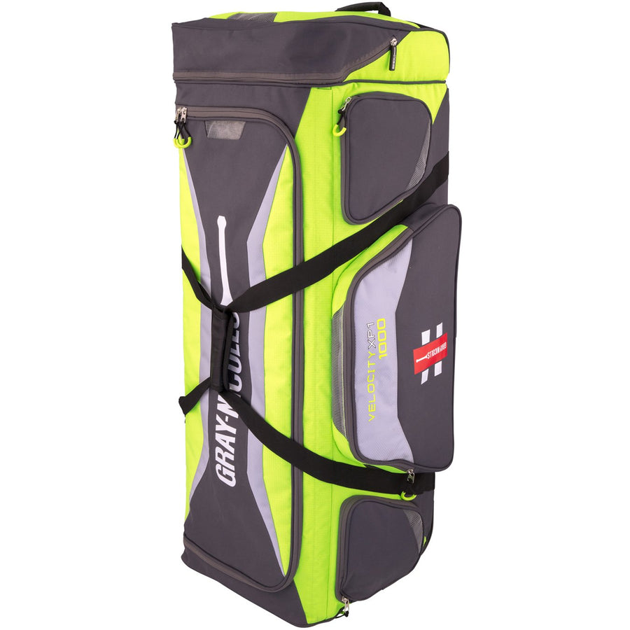 CHAF17Bag Pro Velocity 1000 Green_grey, Standing Front