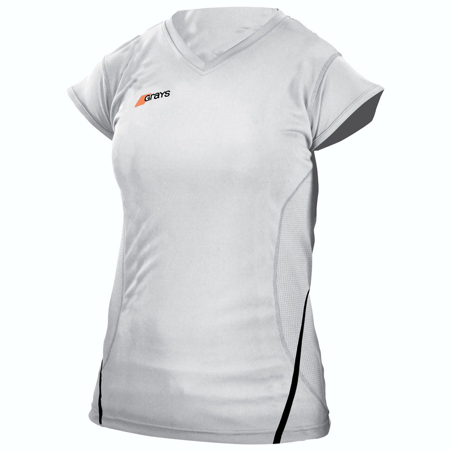 2600 HCED13 Ladies G650 Shirt white