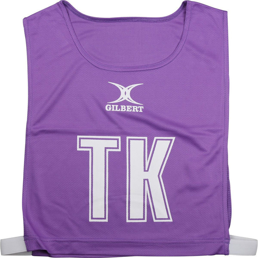 NCEC14NetballBibs Purple High 5 Bib