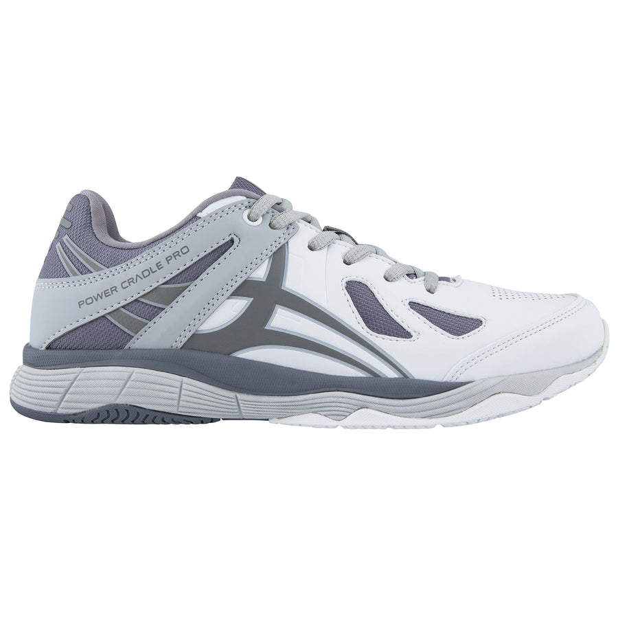 NSBC19Shoe Flare White Charcoal Grey 8, OUTSTEP
