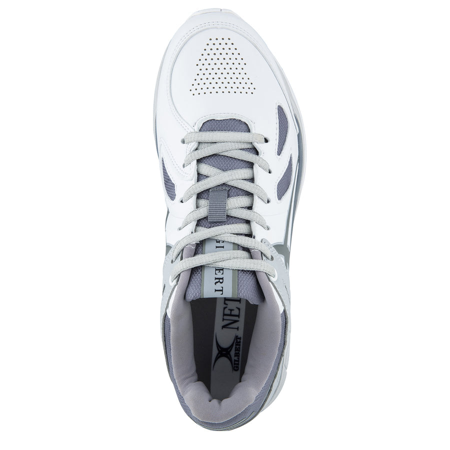 NSBC19Shoe Flare White Charcoal Grey 8, TOP