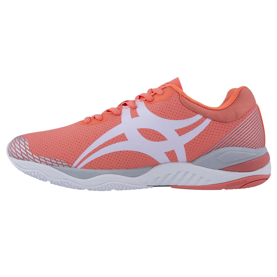 NSCA19Shoe Evolution Coral Silver 8, Instep