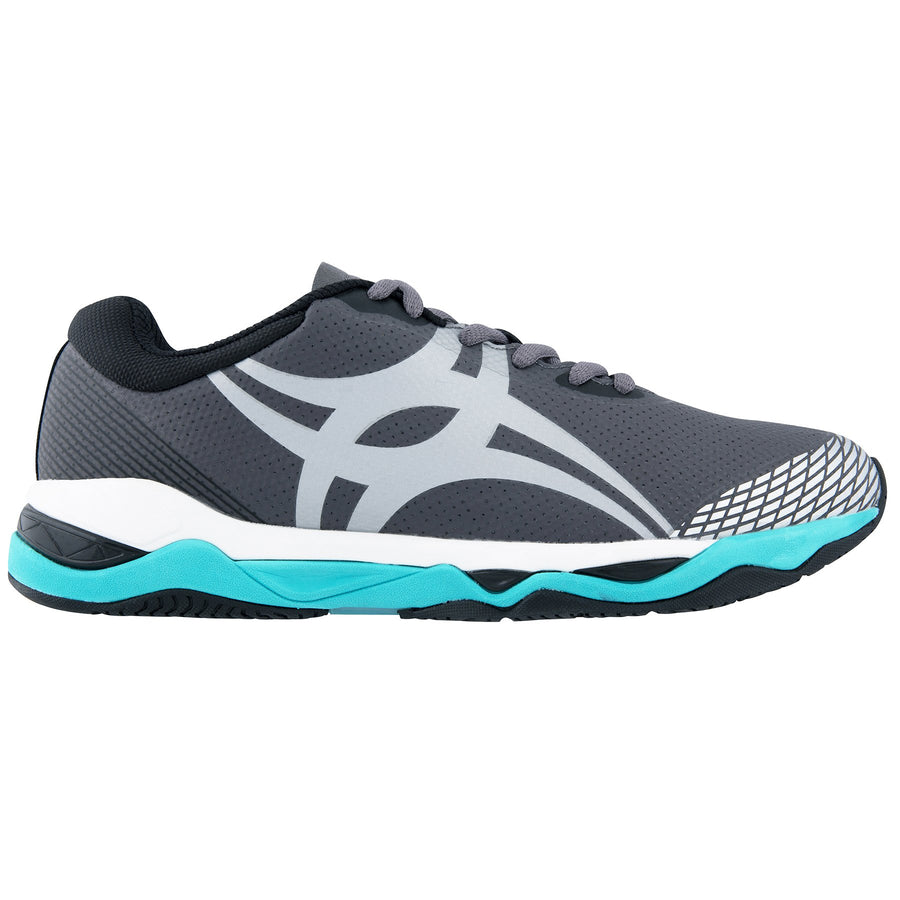 NSCB19Shoe Evolution Charcoal Silver Aqua 8, Outstep