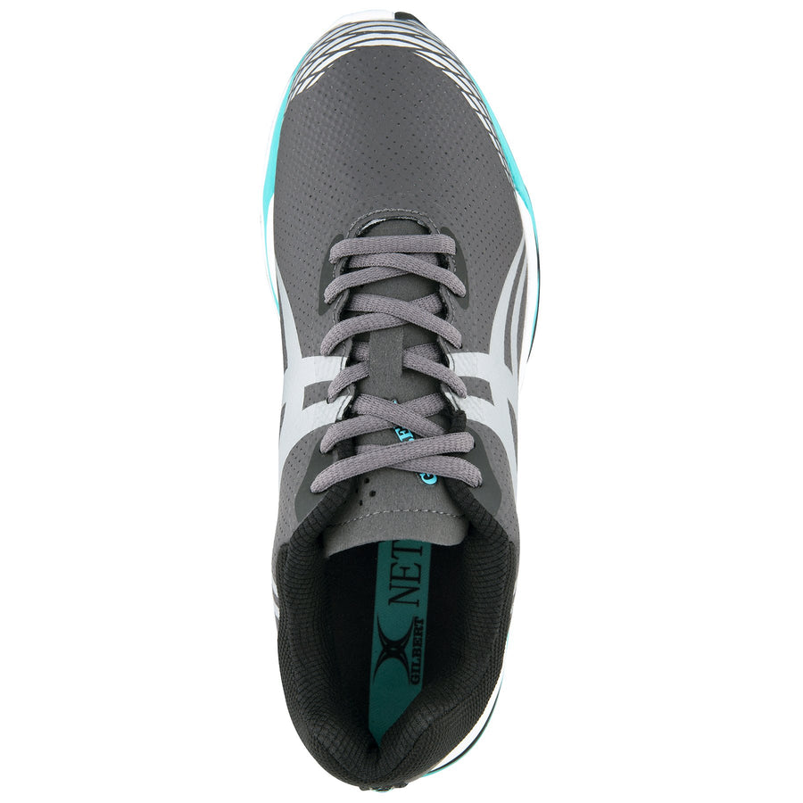 NSCB19Shoe Evolution Charcoal Silver Aqua 8, TOP
