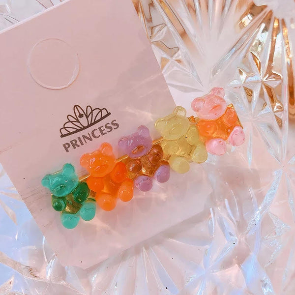 Gummy Bear Hair Pins