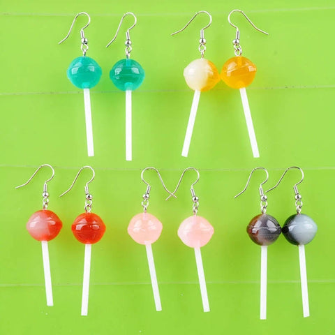DumDum Lollipop Earrings