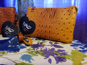 Imoshion Vegan Ostrich Leather Purses