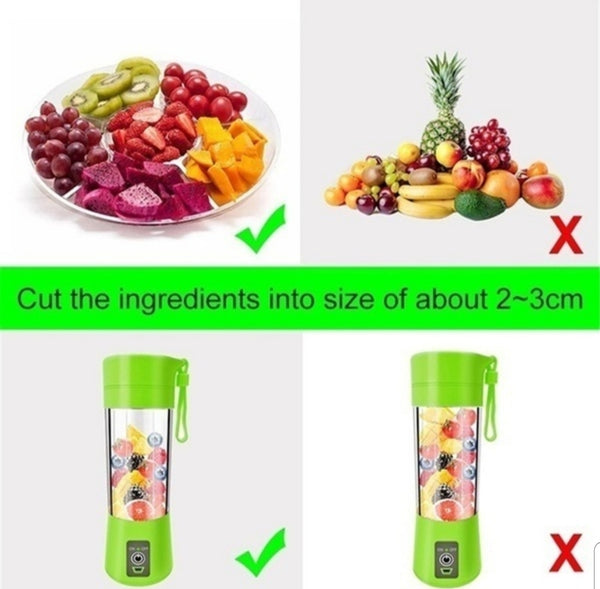 Portable mini blender
