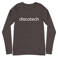 Load image into Gallery viewer, Discotech Logo Long Sleeve Tee (Unisex)