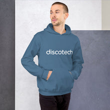 Load image into Gallery viewer, Discotech Logo Hoodie (Unisex)