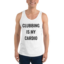 Load image into Gallery viewer, Clubbing is My Cardio Tank Top (Unisex)