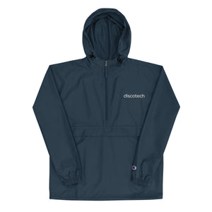 Discotech Embroidered Champion Packable Jacket (Unisex)