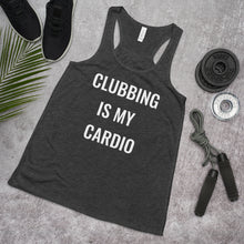 Load image into Gallery viewer, Clubbing is My Cardio Tank Top (Women's)