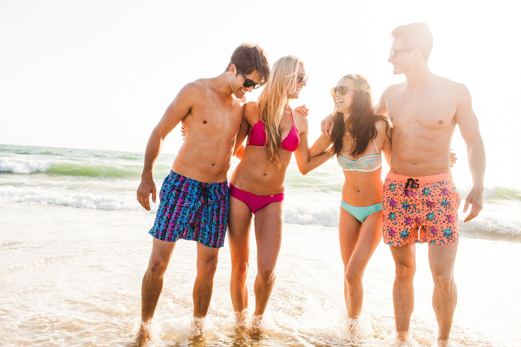 Swim Trunks - Lifestyle Shot - Hermosa Beach