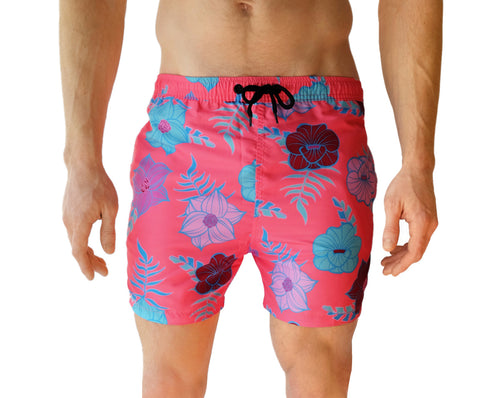 Men's Swim Trunks - Front