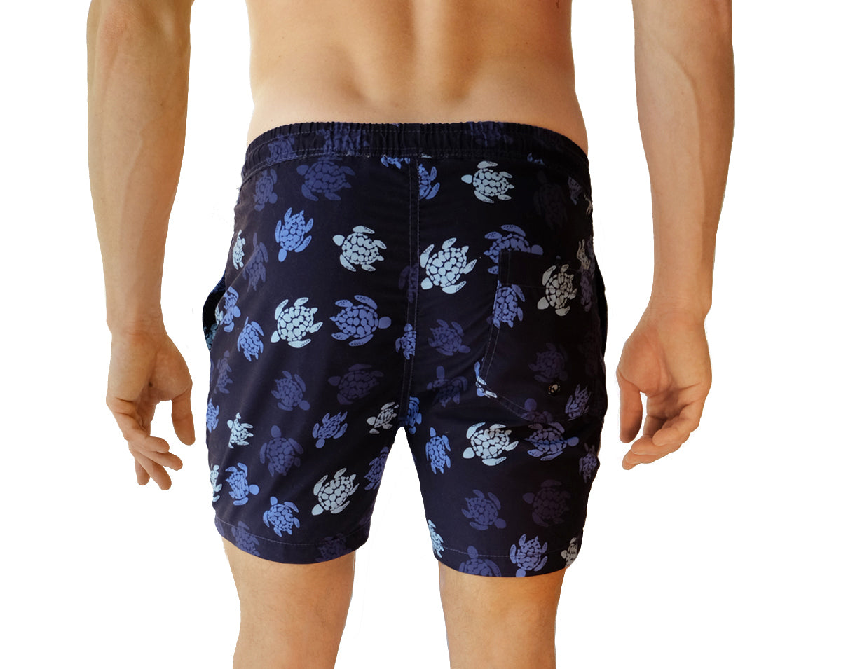 Men's Swim Trunks - Back