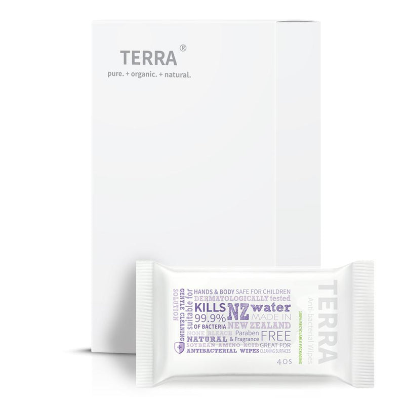 TERRA Anti-bacterial Wipes 6 Pack Value Box
