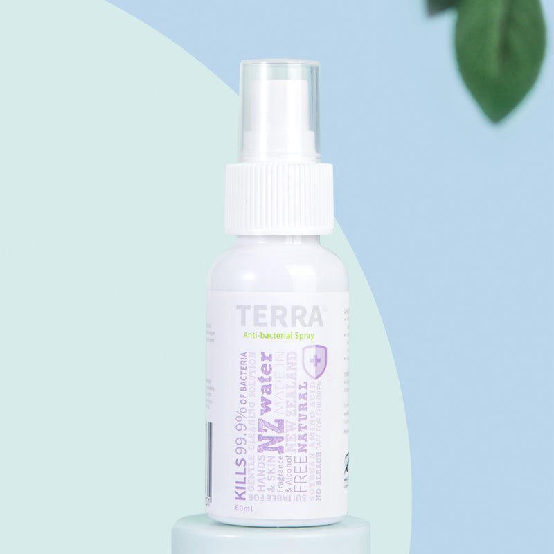 TERRA Anti-bacterial Spray 60ml
