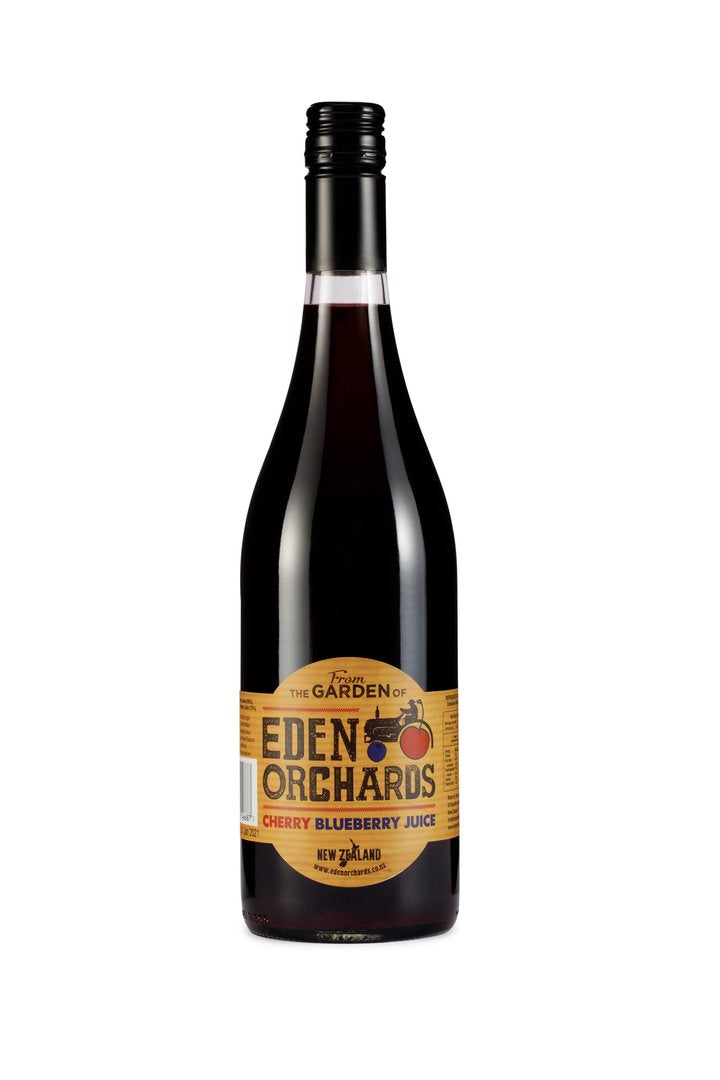 Eden Orchard Cherry Blueberry Juice (750ml x 6)