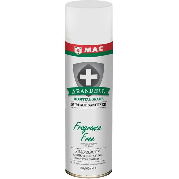 MAC Arandell Hospital Grade Surface Sanitiser (Fragrance Free)