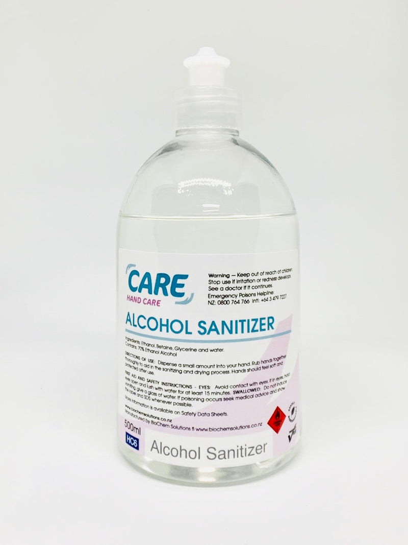 CARE Alcohol Sanitiser (500ml)