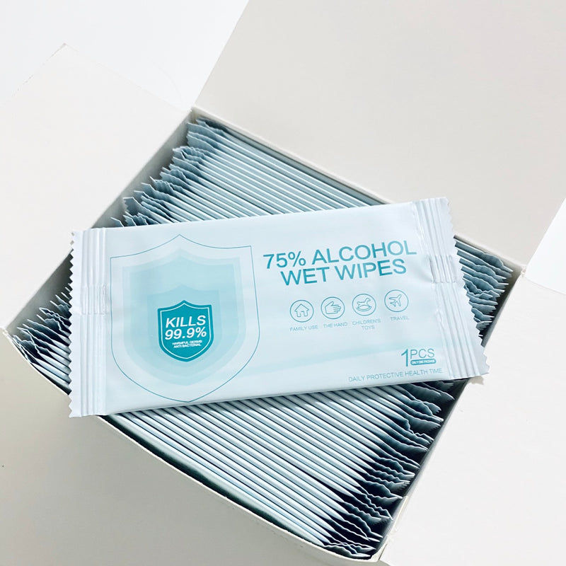 75% Alcohol Wet Wipes - 52PCs