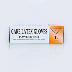 CARE LATEX GLOVES (Box of 100pcs)