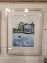 Load image into Gallery viewer, The Convention Centre 1, Dublin (A3 Framed Fine Art Print)