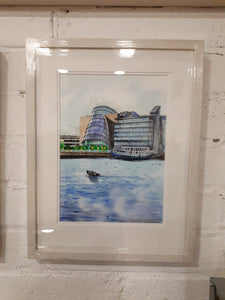 The Convention Centre 1, Dublin (A3 Framed Fine Art Print)