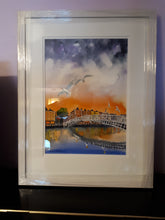 Load image into Gallery viewer, Sorrento Terrace 2, Dalkey, Dublin (A3 Framed Original)