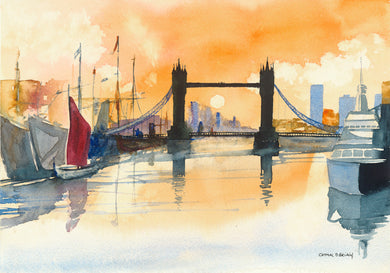 London Bridge (Framed Fine Art Print) A3