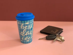 Best Dad Ever Ceramic Travel Mug