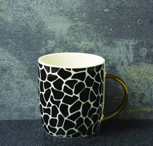 Load image into Gallery viewer, Animal Luxe Barrel Mug with Giraffe Print