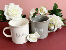Load image into Gallery viewer, Bride and Groom Mug Set