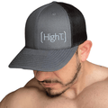 High T Active Hat - Charcoal