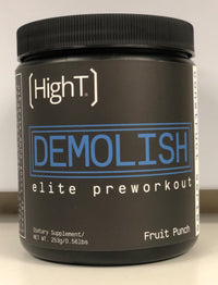 Demolish Pre Workout - High T