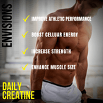 ENVISIONS: Daily Creatine Powder - Not Sold out! Exclusively sold on eBay!