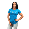 High T Active Shirt Turquoise - HighT Women's