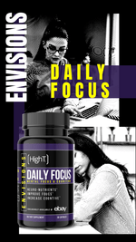 ENVISIONS: Daily Focus - Not Sold out! Exclusively sold on eBay! - High T