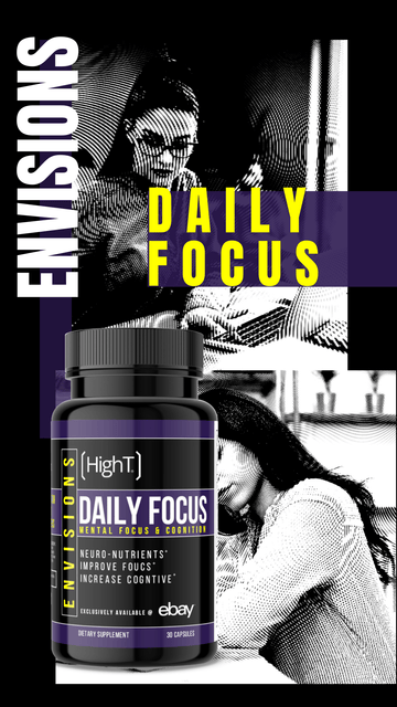 ENVISIONS: Daily Focus - Not Sold out! Exclusively sold on eBay!