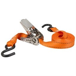 Keeper 10' Orange Ratchet Tie-Down, 4 Pack