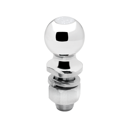 "Hitch Ball, 2"" x 1"" x 2-1/8"", 7,500 lbs. GTW Chrome"