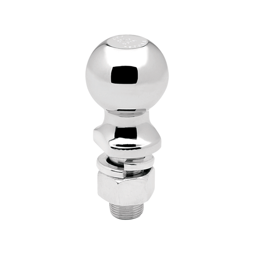 "Hitch Ball, 2-5/16"" x 1"" x 2-1/8"", 7,500 lbs. GTW Chrome"
