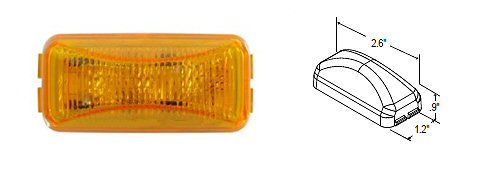 Truck-Lite Clearance Light Amber