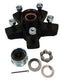 "Dexter 7650073-03B HUB KIT 3.5K - FULL GREASED - 5 on 4.50"" bolt pattern, Uses L68149 Inner and L44649 Outer Bearings"