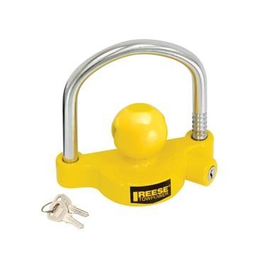 Trailer Coupler Lock; Tow power; Ball and Clamp Type