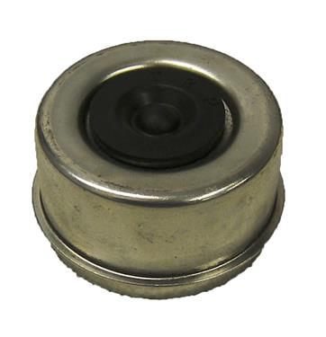 AP Products 014-127300-2 Dust Cap; For 7000 Pound And 8000 Pound Weight Capacity Axles; Lubed; With Rubber Plug; 2 Per Carton