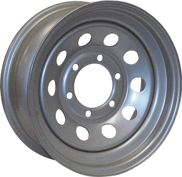 Americana Tire And Wheel 20794 Trailer Wheel 16X6 - 8 ON 6.50 Morton Silver