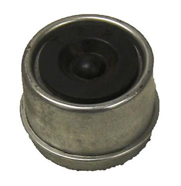 AP Products 014-122067-2 Dust Cap; For 2000 Pound And 3500 Pound Weight Capacity Axles; Lubed; With Rubber Plug; 2 Per Carton