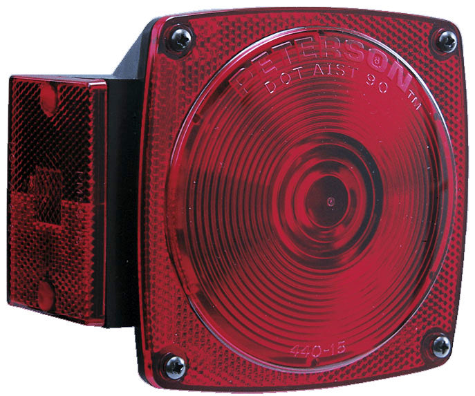 Peterson Manufacturing V440L Combination Stop and Tail Light - Left / Driver Side